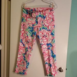 Lilly Pulitzer size 4 cotton pants